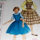 Vintage Girl's Jumper Blouse Pattern Girl's size 12 Simplicity 2204