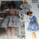 Girl's Dress Ruffles and Lace Sewing Pattern McCall's 4767 Size 3