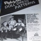 Poissot Doll Sewing Pattern for 21, 22 inch Boy's Sailor and Afternoon Suit