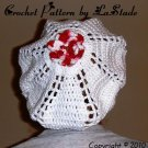 PDF CROCHET INSTRUCTIONS Food Snood Hairnet Cover for Food Service Workers THE ROSE  LaStade-Designs
