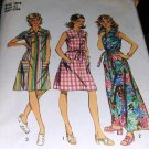 Vintage House Dress Sewing Pattern 1972 Simplicity 5028 size 18 1/2 (wiki)