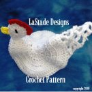 Chicken Pot Holder Hot Pad PDF Crochet Instructions Pattern LaStade
