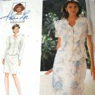 Sewing Pattern Kathy Lee Pretty 2 piece dress Simplicity 9613 Sewing Pattern Size 6,8,10