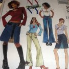 Jeans and t-shirts sewing pattern McCall's 3731 Junior Sizes 11/12 to 17/18