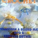 Decorative Crochet Magazine Number 66, Thread Crochet Patterns Filet Doilies, Shawl, Pillow