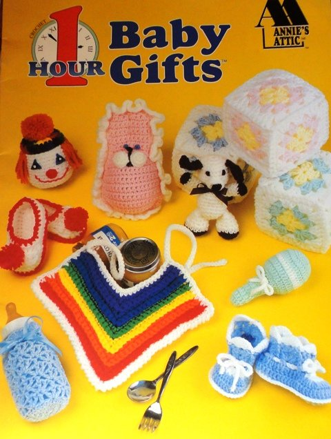 Baby Gifts Crochet Pattern One Hour Baby Gifts Annie's Attic 87G82