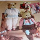 Simplicity 7548 Large Bear, Bunny, Dolls Sewing Pattern 24 inches