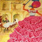 Crinoline Lady Doilies to crochet Vintage thread Crochet Pattern  Coats and Clarks 262