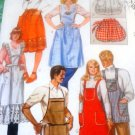 Apron Sewing Pattern Chef, Bib and half apron McCall's 8231