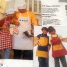 Chef Apron Sewing Pattern  McCall's 6214