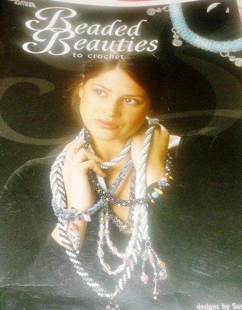 Jewelry Pattern Beaded Beauties Crochet Booklet necklaces bracelets