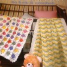 Baby Wrappers Afghans Pattern to Knit and Crochet Leisure Arts Leaflet 397