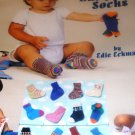 Knit a Dozen Baby Socks Knitting Pattern American School of Needlework 1317