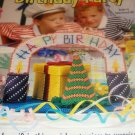 Birthday Party Centerpiece Plastic Canvas Pattern House of White Birches