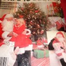 "Santa Claus Outfit Costume Sewing Pattern Bag and Doll McCall's 2289 Chest Size 38"" 40"" Medium"