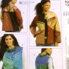 McCall's Crafts M5127 Womens Color Block Vest or Jacket size 8 to 22