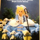 Fibre Craft  Bed Doll Pattern Little Bo Peep Nursery Rhyme Southern Belle Ensemble Crochet Pattern
