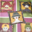 Appliqued Lady Pillows Sewing Pattern Simplicity Crafts 4970