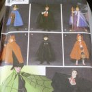 Simplicity 5927 Halloween Costume Sewing Pattern King, Red Riding Hood, Devil, Vampire uncut