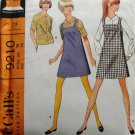 Misses' Jumper and Blouse in Two Versions Vintage Sewing Pattern McCall's 9210 size 16