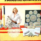 Suggestions for Fairs and Bazaars Vintage Crochet Pattern Star Book 98