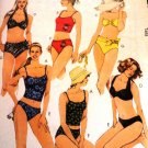 Misses Swimsuits Bathing Suits 2 piece SIZE 6 McCall's 2772 Sewing Pattern
