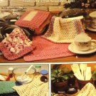 Dishcloths  Pot Scrubber Crochet Pattern Leisure Arts 2077