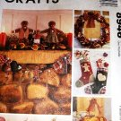 McCall's Crafts 8946 Gingerbread Family Sewing Pattern Holiday Decorations