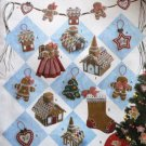 Simplicity Crafts 4810 Holiday Collection Sewing Pattern Gingerbread House ornaments Decorations