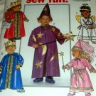 Butterick, 5596 Wizard Angel Princess Prince Fairy Halloween Costume Sewing Pattern size Toddler