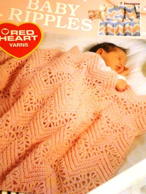 Baby Ripples Afghan Patterns to Crochet Leisure Arts 2856