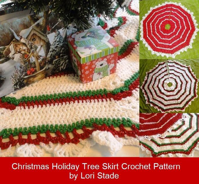 Christmas Tree Skirt Crochet Pattern Instructions