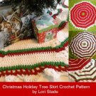 Christmas Tree Skirt Crochet Pattern Instructions