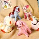 Simplicity 2763 Stuffed Animal Pattern dog, deer, horse Simplicity Crafts Sewing Pattern