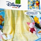 Cuddly Pooh Baby Afghans for the Nursery Leisure Arts 3403 Crochet Pattern