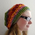 PDF Knitting Pattern Arrowhead Slouchy Hat by LaStade Designs