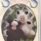 Syndee's Craft Little-Dew Skunk and Sparkles Kitten Sewing Pattern  for stuffed toy