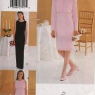 Flower Girl, Bridesmaid Daddy Daughter Dance Dress Vogue Sewing Pattern 9885 Size 12/14