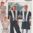 Butterick 5338 Girls' Dress & Jumpsuit Size 12-14 Uncut