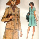 Very Easy Vogue 8984 Dress and Jacket Size 16 Vintage Sewing Pattern