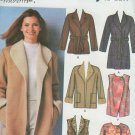 Simplicity 5306 Easy to Sew Jackets Size 6-8 to  14-16