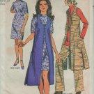Simplicity 9193 Midi Vest Coat Mini Dress, Tunic & Pants Pattern Size 16 bust 38, waist 29