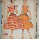 """McCall's 5415  Vintage Misses Summer Dress with full skirt size 10 Bust 31"""""""