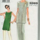 Vogue 7447 KOKO BEAL Tunic Skirt Pants sewing pattern sizes 18 20 22
