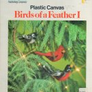 Cardinal Robin Chickadee Plastic Canvas Pattern Birds of a Feather I