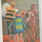 Vintage Simplicity 6671 Parrot Kangaroo Bumble Bee Halloween Costume Sewing Pattern Adult Large