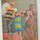 Vintage Simplicity 6671 Parrot Kangaroo Bumble Bee Halloween Costume Sewing Pattern Adult Large