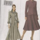 Vogue 8169 Misses Jacket Skirt Size 14 16 18 uncut Pattern