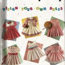 Simplicity 7353 Sewing Pattern, Girls Design Your Own Dress, Sizes 2 thru 6x, UNCUT