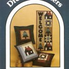Dream Spinners Quilt Pillows and Welcome Banner Sewing Pattern 146